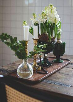 5 sätt att dekorera med hyacinter