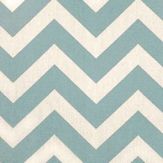 Village Blue Chevron Home Decor Cotton Fabric- bought this for my den curtains!!!!!!!