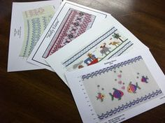 Smocking Design Plates - Sewing and Smocking- over 2000 plates
