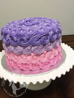 pink and purple cakes - Buscar con Google