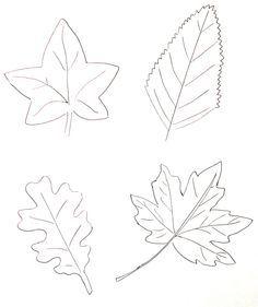 Colorier des feuilles d'automne | La cabane à idées