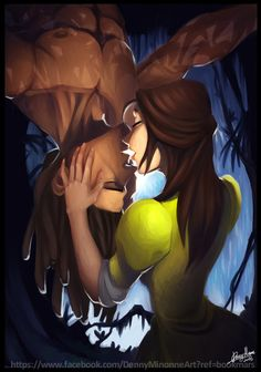 Tarzan+kiss+by+Sommum.deviantart.com+on+@DeviantArt