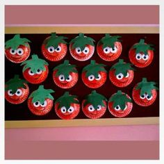 """New Post has been published on www. """"Easy puzzle crafts for kids This page has a lot of free printabel Easy puzzle crafts(activities) for. Strawberry Crafts, Fruit Crafts, Food Crafts, Garden Crafts For Kids, Daycare Crafts, Summer Crafts, Kids Crafts, Easy Crafts, Toddler Art"""