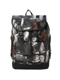 Sam, Dean, Cas will always have your back! | Supernatural Slouch Backpack | Hot Topic