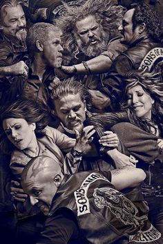 """Image: """"Sons of Anarchy"""" cast"""