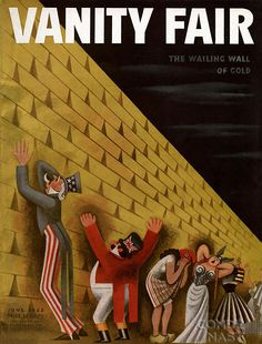 Miguel Covarrubias - Vanity Fair - Wailing Wall