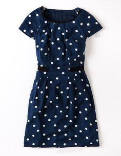 I've spotted this @BodenClothing Easy Day Dress Navy Spot