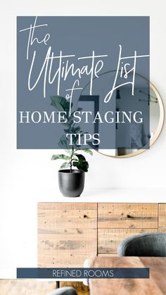 Ready to sell? Get your house staged to sell quickly with these valuable house staging tips from a professional home stager and veteran home seller. Home Organization Hacks, Organizing Tips, Veterans Home, Home Staging Tips, Sell Your House Fast, Outdoor Art, Home Improvement Projects, Stores, Diy Painting