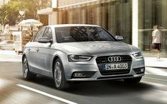 New Audi car in  market...