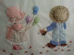 Mantitas de bebé patchwork - Imagui
