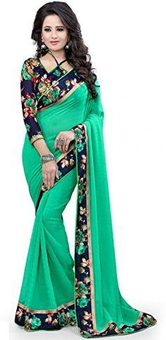 Surat Tex Women's Net Dress Material (C967DLGREENAM_Green): Amazon.in: Clothing & Accessories