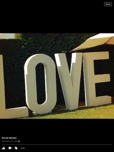 LOVE LETTERS. ... Great for weddings and events.  Ready to hire!