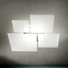 plafondlamp quadrifoglio 8050 e27 6059035x more imposante plafondlamp ...