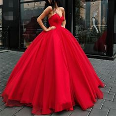 High Quality Ball Gown Party Dress,Red Prom Dress,Sweetheart Evening Dress,Ball Gown Red Prom Gown,Red wedding dress