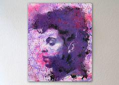 Die Bilder von VISEone beeindrucken durch ihre hohe Farbintensität und starke Ausdruckskraft. Besonders beliebt unter den VISEone Unikaten sind die Werke welche von großen Stars der Musikwelt wie Michael Jackson, Jim Morrison oder in diesem Fall PRINCE erzählen.