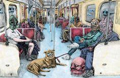 Subway : Kevin Guthrie Portfolio