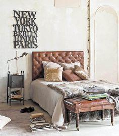 Vintage industrial furniture designs revive bedroom spaces | Homegirl London - vintage industrial furniture night stand