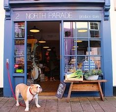 You HAVE to visit North Parade Avenue, Oxford - beautiful little street jam packed full of independent shops and cafes!