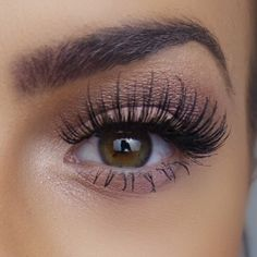 Long lashes..