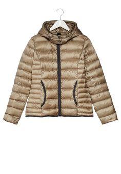 comma, Down jacket - brown - Zalando.co.uk