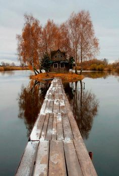 Perfect place to go fishing  #Cabin, #Hut, #Lake