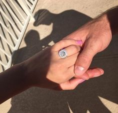 Sydney Rae James' engagement ring from her fiancé, Anthony Bass