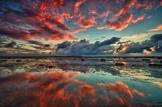 Red Reef Sky