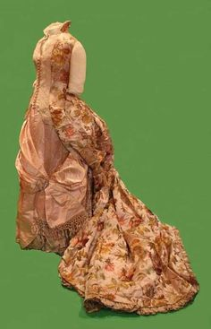Tumblr Worth evening dress, 1888 From the Daughters of the American Revolution Museum