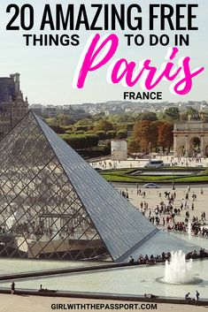 Paris France is one of the best cities in the world. But when planning Paris France travel, Paris France things to do can really add up. So here is a list of 20 amazing things that you can do without spending any money in Paris, France. Between fabulous street art and mesmerizing views of the Eiffel Tower, Paris France can be more budget-friendly than you think. #Paris #France #travel #wanderlust #europe