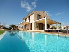 Luxury Villa With Pool and Jacuzzi For 12 People At Just 150 Mt To the SeaHoliday Rental in Marina Manrera from @HomeAway UK #holiday #rental #travel #homeaway