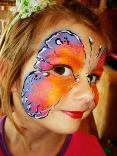 Creative and fun #facepainting for boys and girls. Book your next party at www.spur.co.za