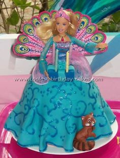 barbie doll cakes for birthdays | Coolest Barbie Doll Birthday Cake Photos