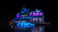 Prem Mandir - The Temple of Divine Love. Temple, Cathedral, India, Goa India, Temples, Cathedrals, Indie, Indian