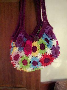 Flowery oma handmade
