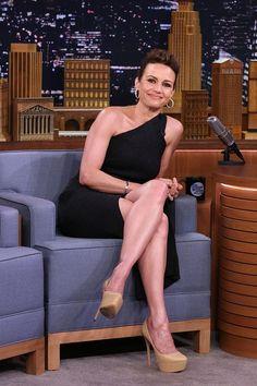 Carla Gugino, Middle Aged Women, Girl Crushes, Celebrity Crush, Beautiful Women, Actresses, Legs, Celebrities, How To Wear