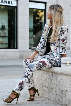 fe70939adae Suited up. Fashion EdgyFloral ...