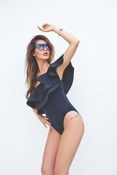 STRÓJ KĄPIELOWY EXCLUSIVE BY SHEILA CZARNY | Odzież \ Stroje kąpielowe/Swimwears | Tytuł sklepu zmienisz w dziale MODERACJA \ SEO