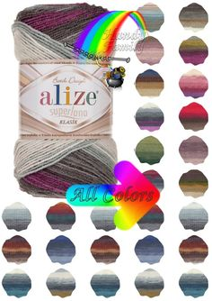 Alize Superlana Batik is yarn with beautiful colors, soft, tender and warm at the same time. wool, Acrylik Classic Needles suggested: Price is per skein. ♨♨♨♨♨♨♨♨♨♨♨♨♨♨♨♨♨♨♨♨♨♨♨♨♨♨♨♨♨♨♨ See more: Other colors of listings from this Handmade Shop, Handmade Items, Craft Materials, Knit Or Crochet, Art Market, Wool Yarn, All The Colors, Fun Crafts, Etsy Shop