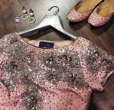 Seema Khan # needle dust # blouse # foot wear #
