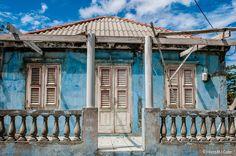 Old blue house, Curacao