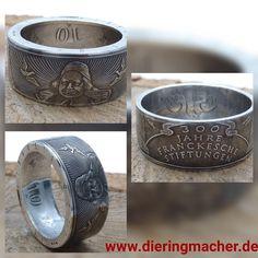 Francke am Finger  August Hermann Francke ( 1663-1727) gehörte zu den bedeutendsten Vertretern des deutschen Pietismus, einer religiösen Richtung des deutschen Protestantismus. #ring #coin #coinring #silber #silver #franckschestiftung #halle #schmuck #handmade #jewelry #graft #dawanda #ringkunst #kunst #unikat #einzigartig #lifestyle #fashion #fashionweek #chic #beauty #love #schmuckausmuenzen #schmuck