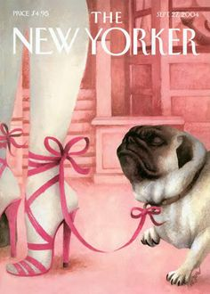 New Yorker Cover - Pug