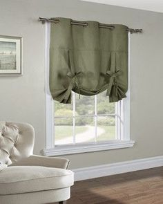 DIY Pottery Barn Roman Shade