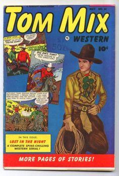 Tom Mix Western #61 Golden Age-Fawcett Comics FN   {Randy's Comics}