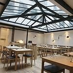 Saturne, a wonderful restaurant in the Paris 2ieme. Clean but inventive menu and an amazing list of natural wines.