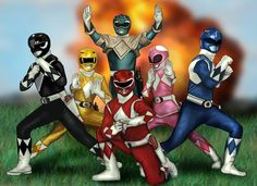 Mighty Morphin Power Rangers Epic by HeroforPain on DeviantArt