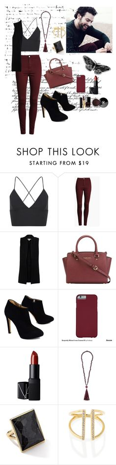 """Untitled #73"" by xristinaki96 ❤ liked on Polyvore featuring Belford, MICHAEL Michael Kors, Giuseppe Zanotti, Chanel, NARS Cosmetics, Zeus+Dione and Ippolita"