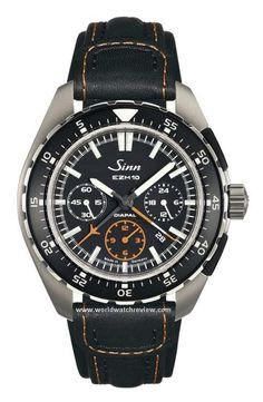 """Sinn EZM 10 """"Einsatzzeitmesser"""" Pilot Chronograph automatic watch"""