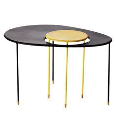 GUBI set da 2 tavolini Matégot KANGOUROU