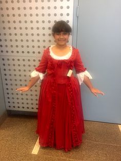 Our young dancers are thrilled to be wearing these beautiful, baroque style costumes!